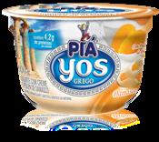Iogurte com Creme e Polpa de Damasco - 100g
