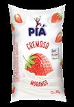 Iogurte Cremoso Parcialmente Desnatado Morango - 900g