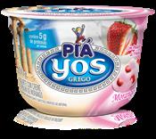 Iogurte com Creme e Polpa de Morango - 100g