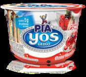 Iogurte com Creme e Geleia de Morango, Amora e Framboesa  - 100g