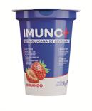 Iogurte parcialmente desnatado com beta-glucana de levedura e preparado de Morango para dietas com restrição de lactose  - 150g