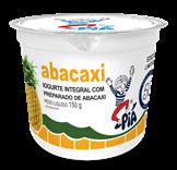 Iogurte Integral com Preparado de Abacaxi - 150g