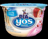 Iogurte Yos com Creme e Polpa de Morango  - 100g