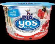 Iogurte Yos com Creme e Frutas Vermelhas  - 100g