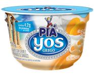 Iogurte Yos com Creme e Polpa de Damasco - 100 g
